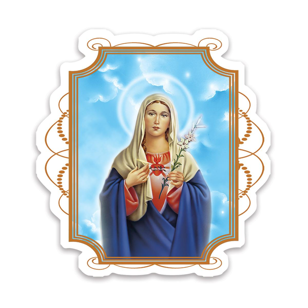 Immaculate Heart of Mary : Gift Sticker Catholic Religious Virgin Saint Sacred Mother of God