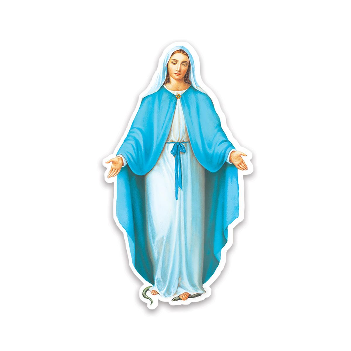 Our Lady of Grace : Gift Sticker Catholic Saint Religious Virgin Mary