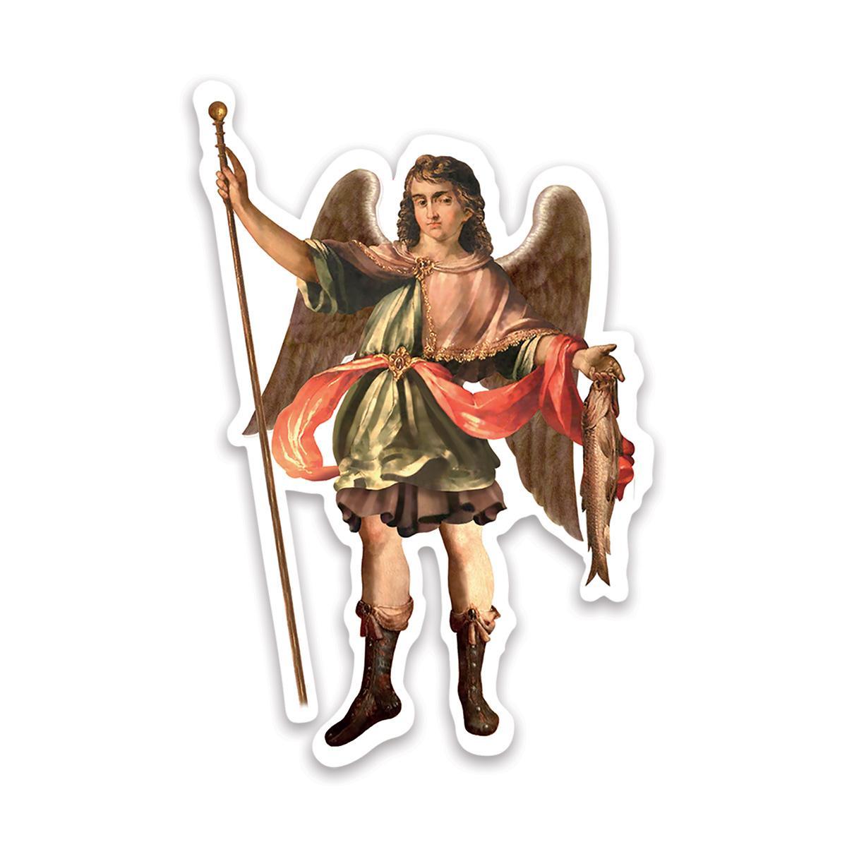 St. Raphael The Archangel : Gift Sticker Catholic Religious Saint
