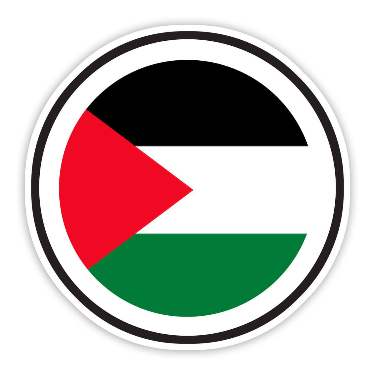 Palestine : Gift Sticker Flag Never Underestimate Power Palestinian Expat Country
