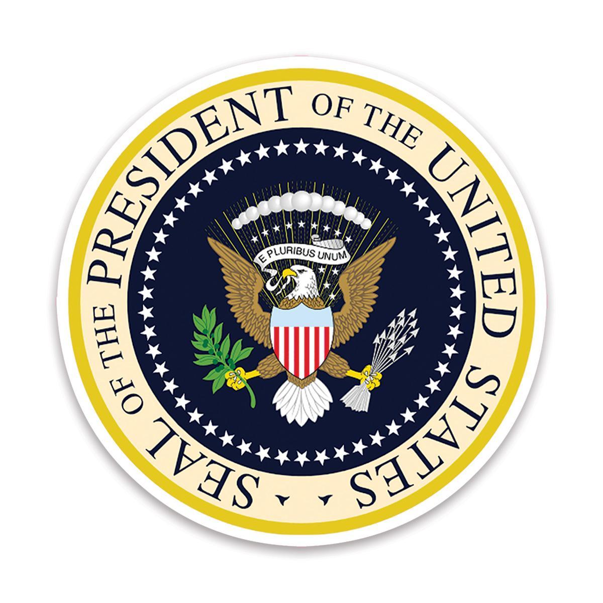 Presidential Seal : Gift Sticker American Patriot Trump USA United States