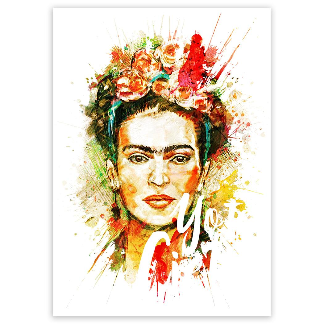 Frida Kahlo Yo Te Cielo : Gift Sticker Decor Birthday Christmas