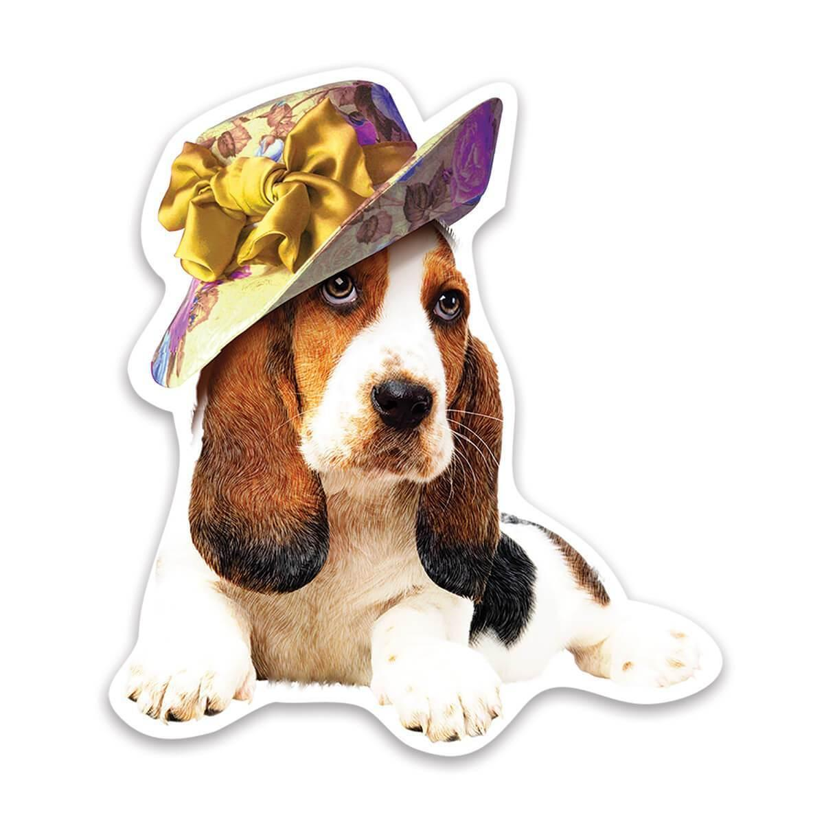 Basset Hound Hat : Gift Sticker Cute Dog Animal Dogs Diva Mom Mother