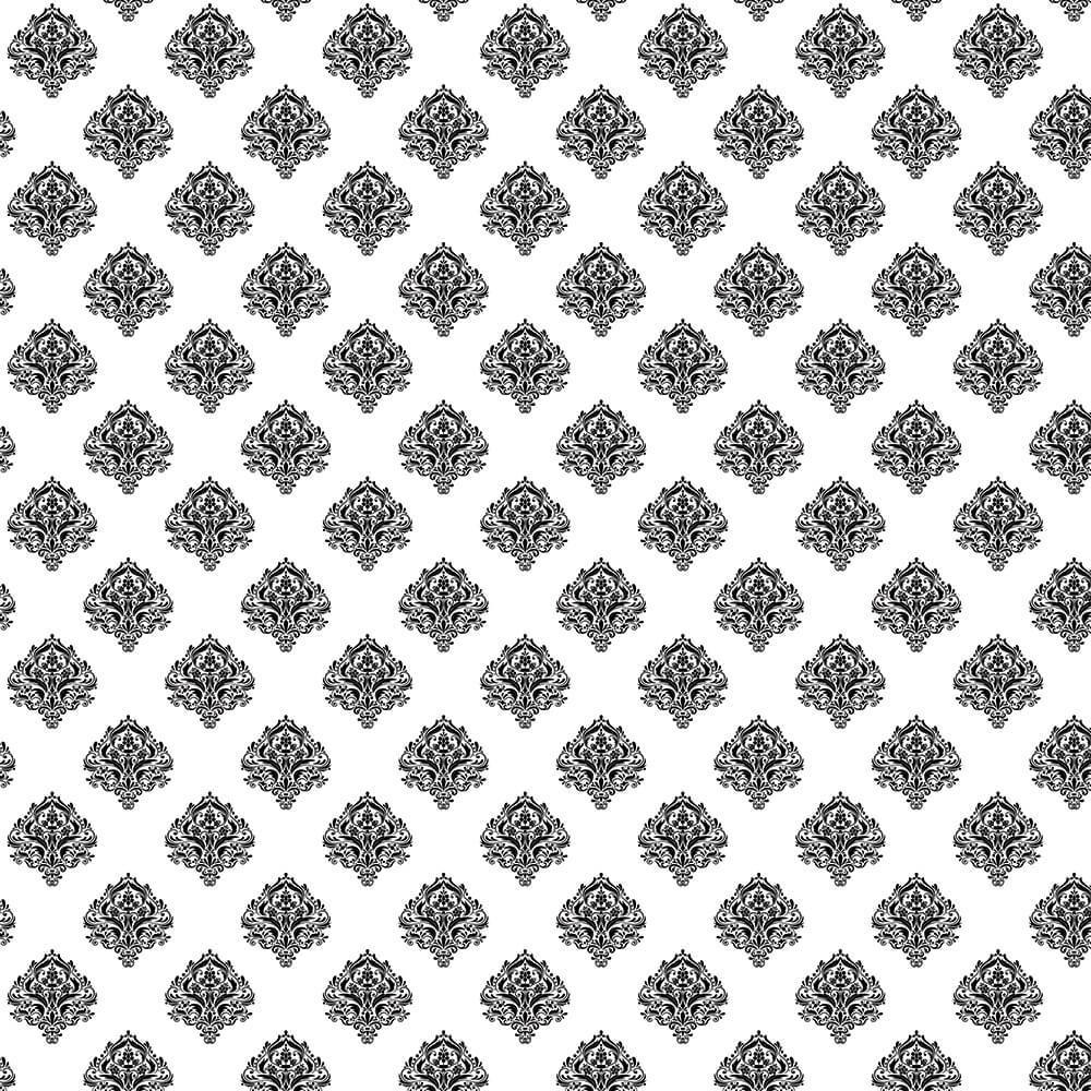 Damask Design : Gift 12″ X 12″ Decal Vinyl Sticker Sheet Pattern Pattern Vintage Frame Border Wedding Scrapbook Embellishment
