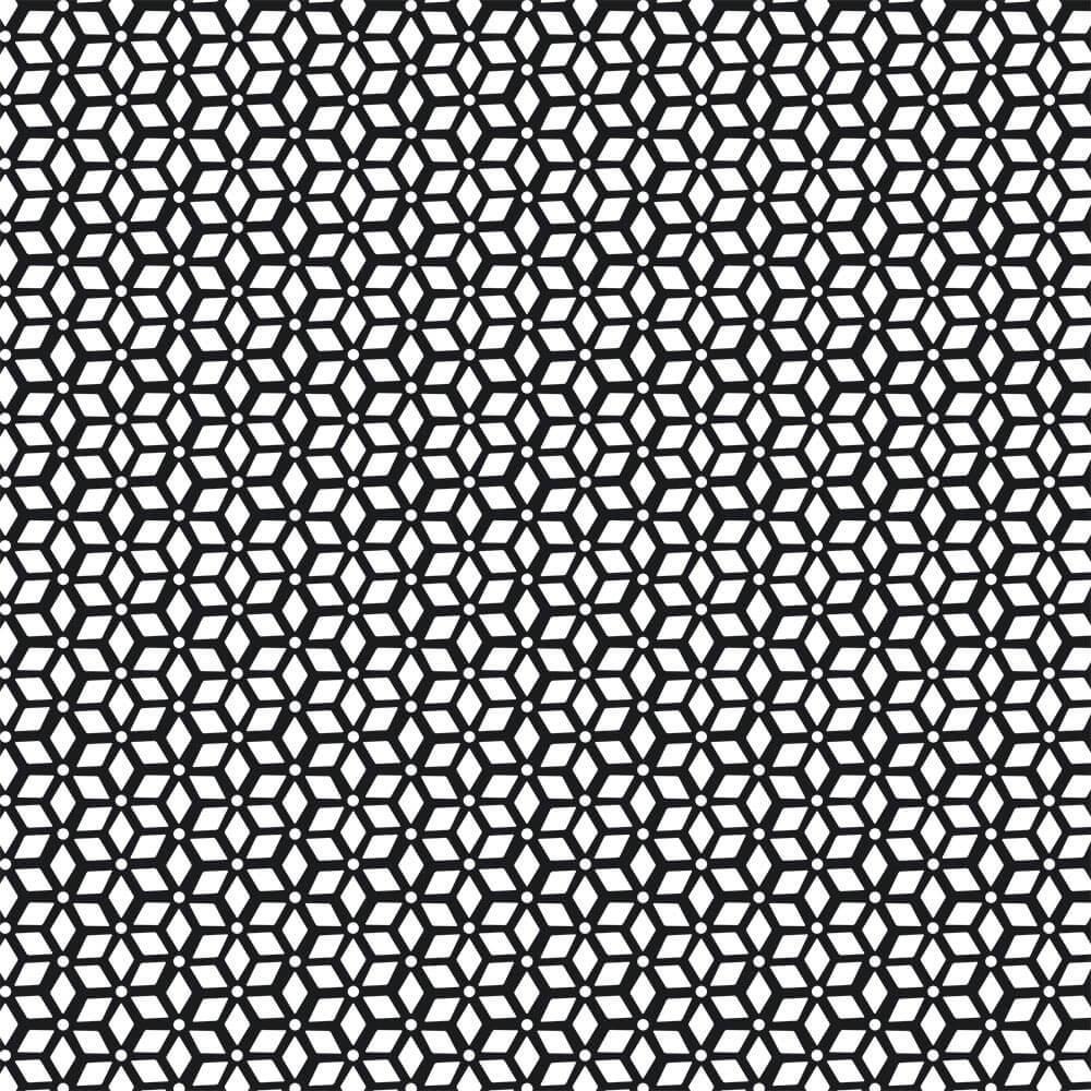 Abstract Design : Gift 12″ X 12″ Decal Vinyl Sticker Sheet Pattern Black Modern Home Decor Scandinavian