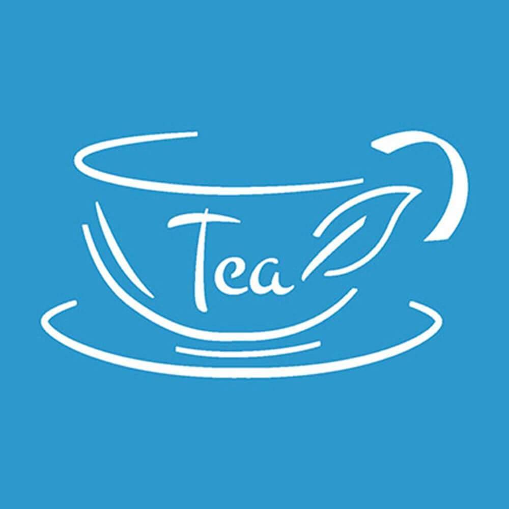 Cup of Tea 4x4in : Diy Reusable Laser Cut Stencils 10x10cm Drink Coffee Ornament