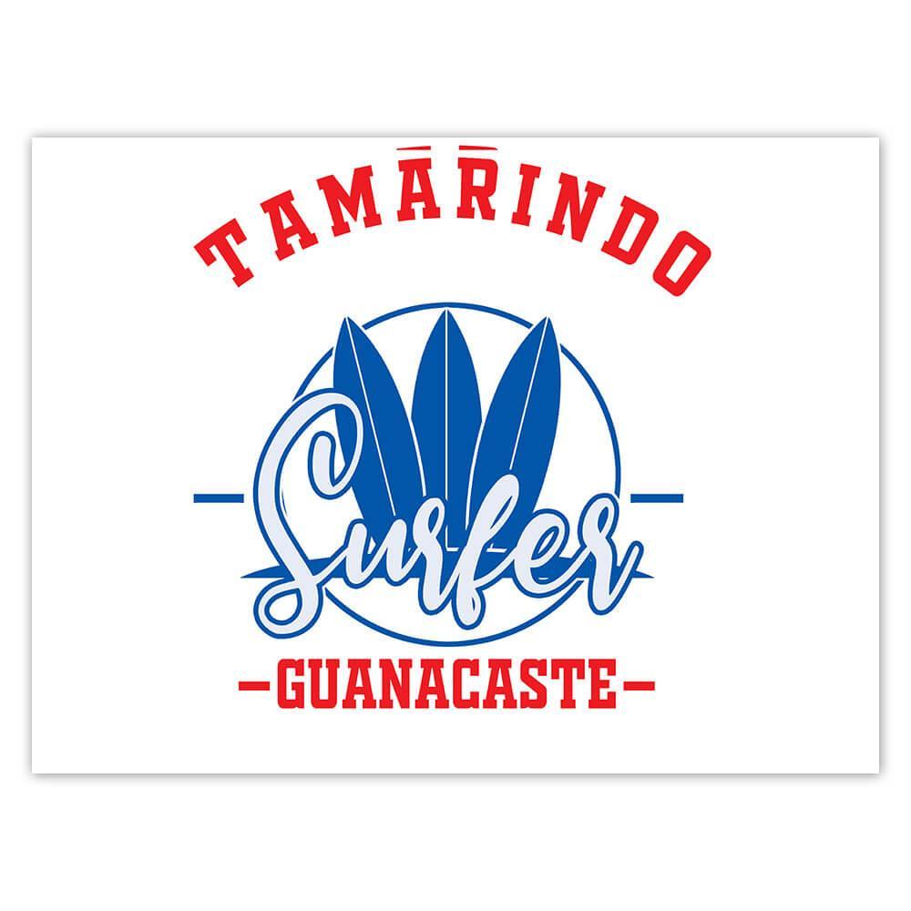 Tamarindo Surfer Guanacaste : Gift Sticker Tropical Beach Travel Vacation Surfing