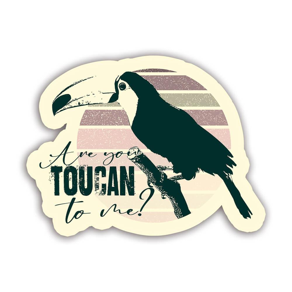 Toucan Nature Eco Ecology : Gift Sticker Wild Animals Wildlife Fauna Safari Species Ecological