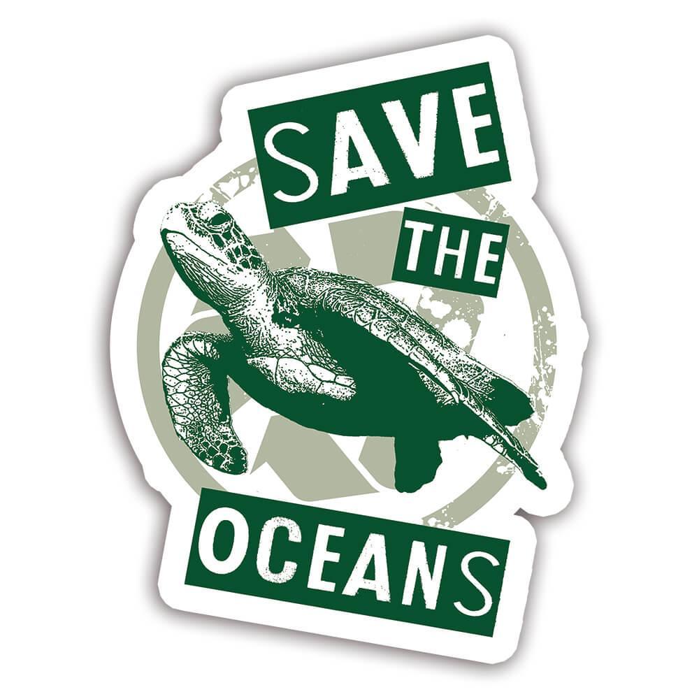 Turtle Nature Eco Ecology : Gift Sticker Wild Animals Wildlife Fauna Safari Species Ecological