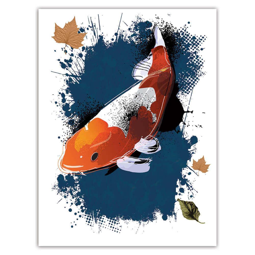 Carp Fish Animal : Gift Sticker Ecology Ecological Sustainable Sustainability