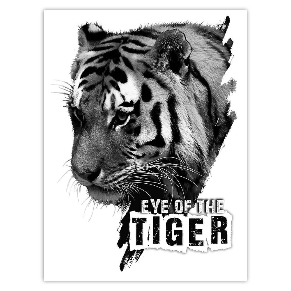Tiger Nature : Gift Sticker Wild Animals Wildlife Fauna Safari Species