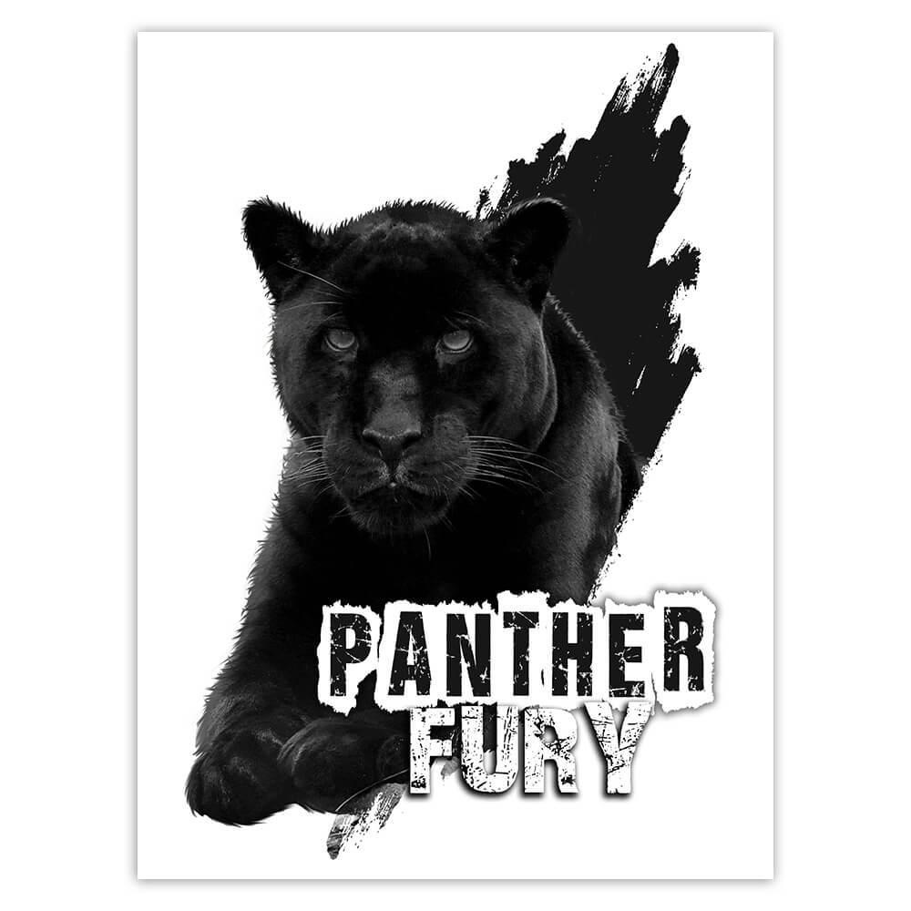 Black Jaguar Nature : Gift Sticker Wild Animals Wildlife Fauna Safari Species