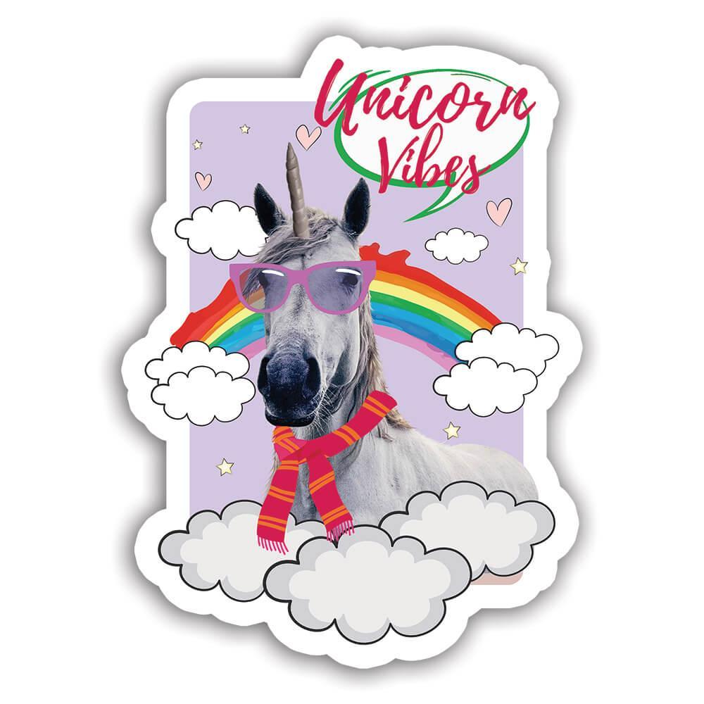 Horse Unicorn Funny Trend Magical : Gift Sticker Wild Animals Wildlife Fauna Safari Species