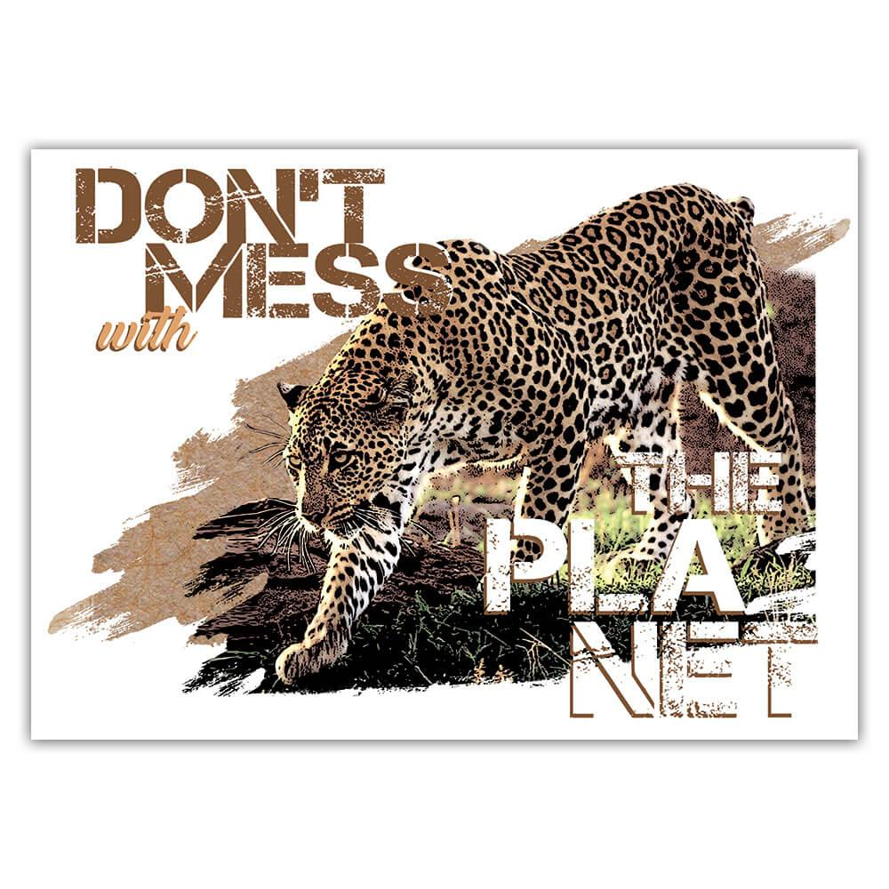 Cheetah Nature Eco Ecology : Gift Sticker Wild Animals Wildlife Fauna Safari Species Ecological