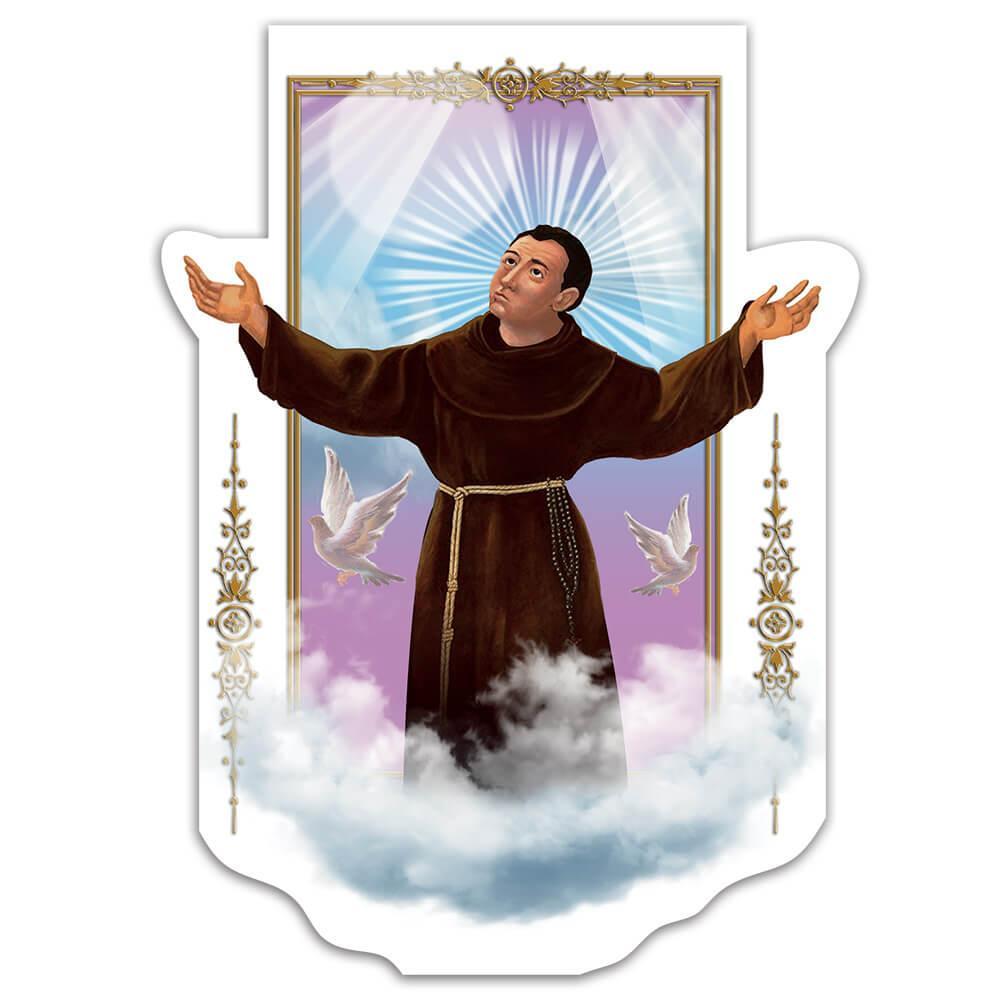 Saint Pedro Bautista : Gift Sticker Peter Baptist Catholic Church Christian Faith Religious