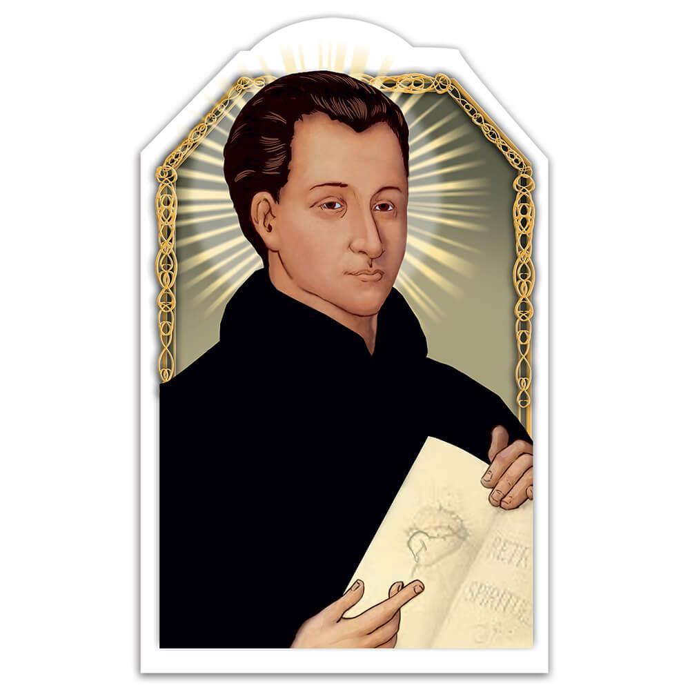 Claude De La Colombiere : Gift Sticker Catholic Saint Priest Christian Religious Poster