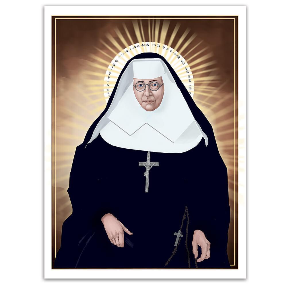 Saint Katharine Drexel : Gift Sticker Catholic American Christian Religious Nun Holy