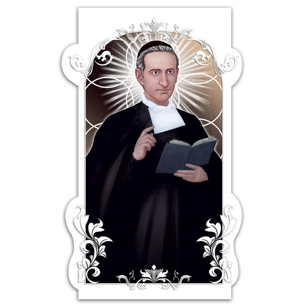 Saint Miguel Febres Cordero : Gift Sticker Catholic Brother Christian Religious