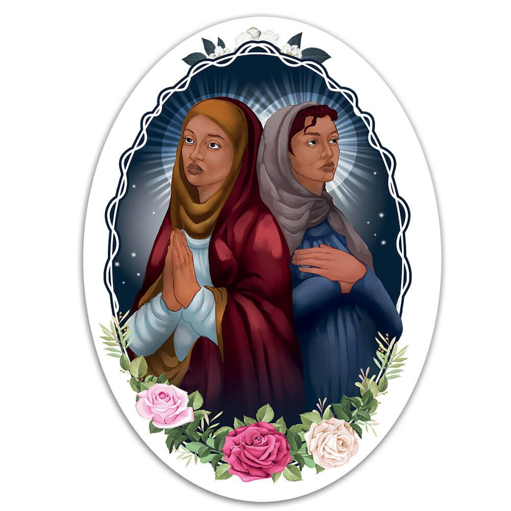 Saints Perpetua And Felicity : Gift Sticker Catholic Church Mother Pregnant Christian