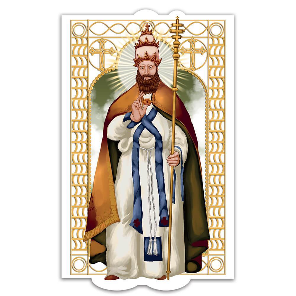 Saint Leo The Great : Gift Sticker Catholic Church Pope Christian Roman Religious