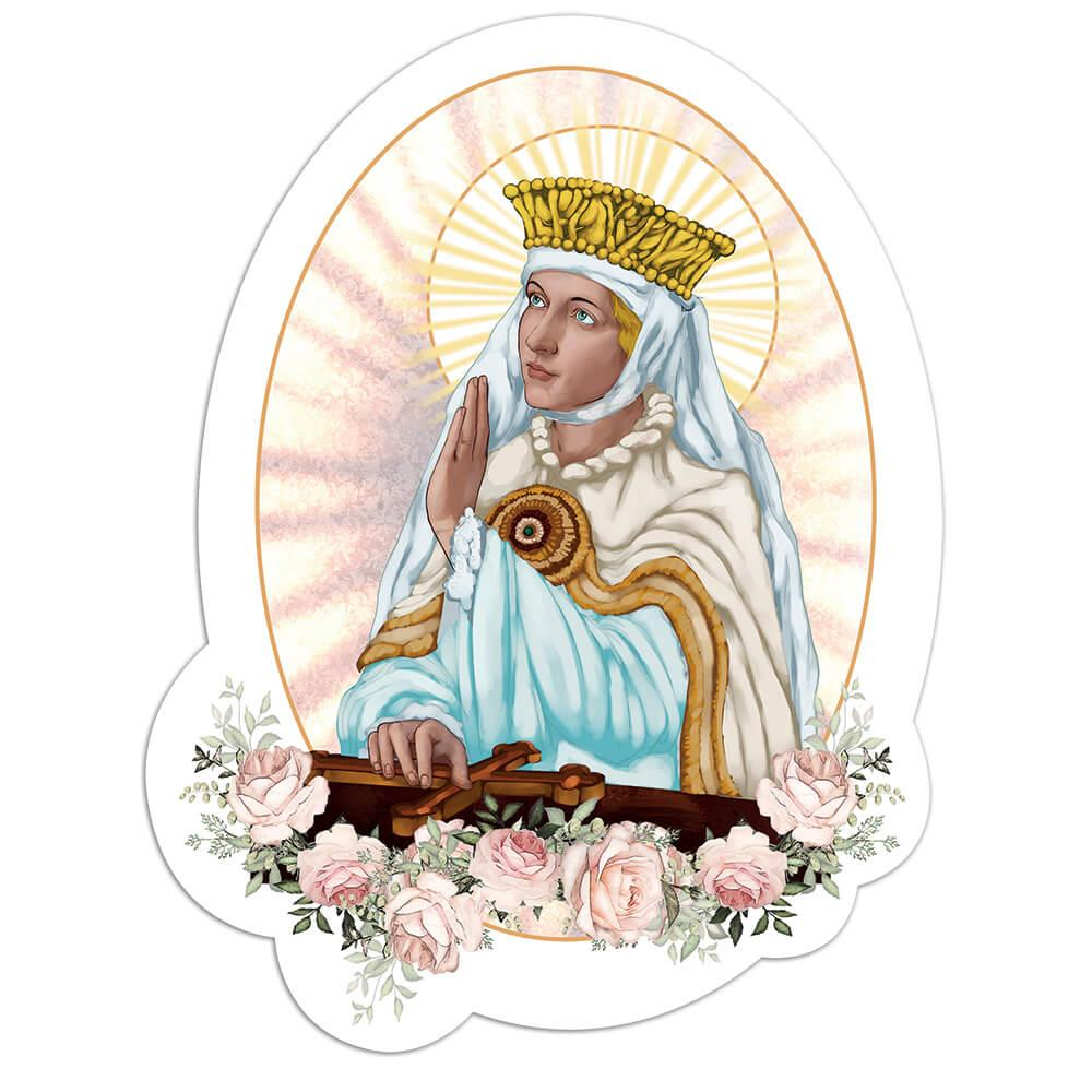 Saint Margaret Of Scotland : Gift Sticker Catholic Queen Wessex Christian Holy Bible