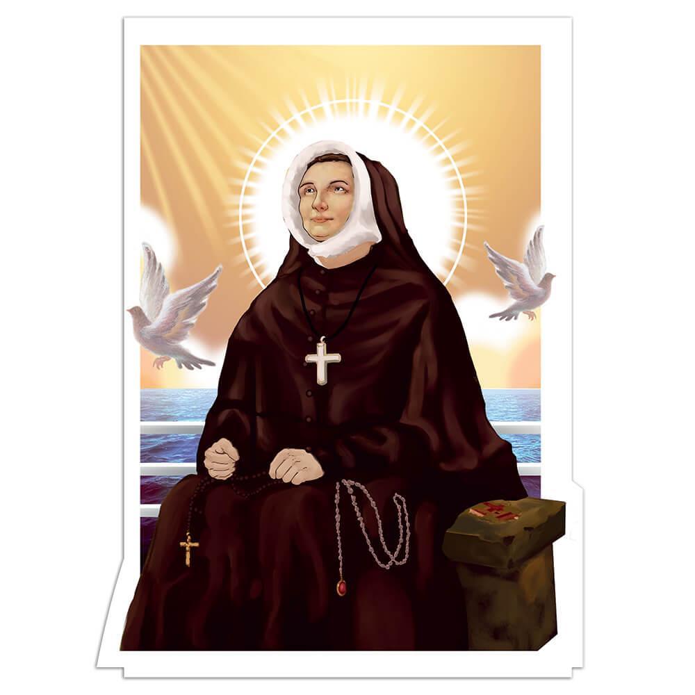 Saint Rose Philippine Duchesne : Gift Sticker Catholic French Sister Doves Cross Christian