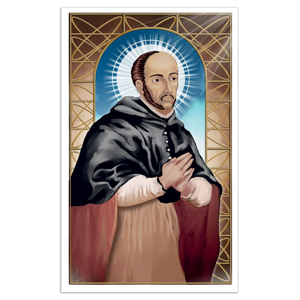 Saint Turibius Of Mogrovejo : Gift Sticker Catholic Church Christian Religious Spanish