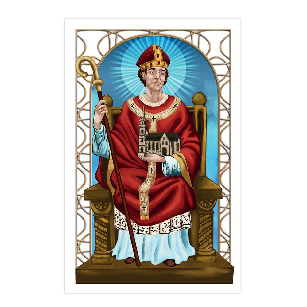 Saint Anno II : Gift Sticker Catholic Church Christian Religious Holy Bible Sufferers Faith