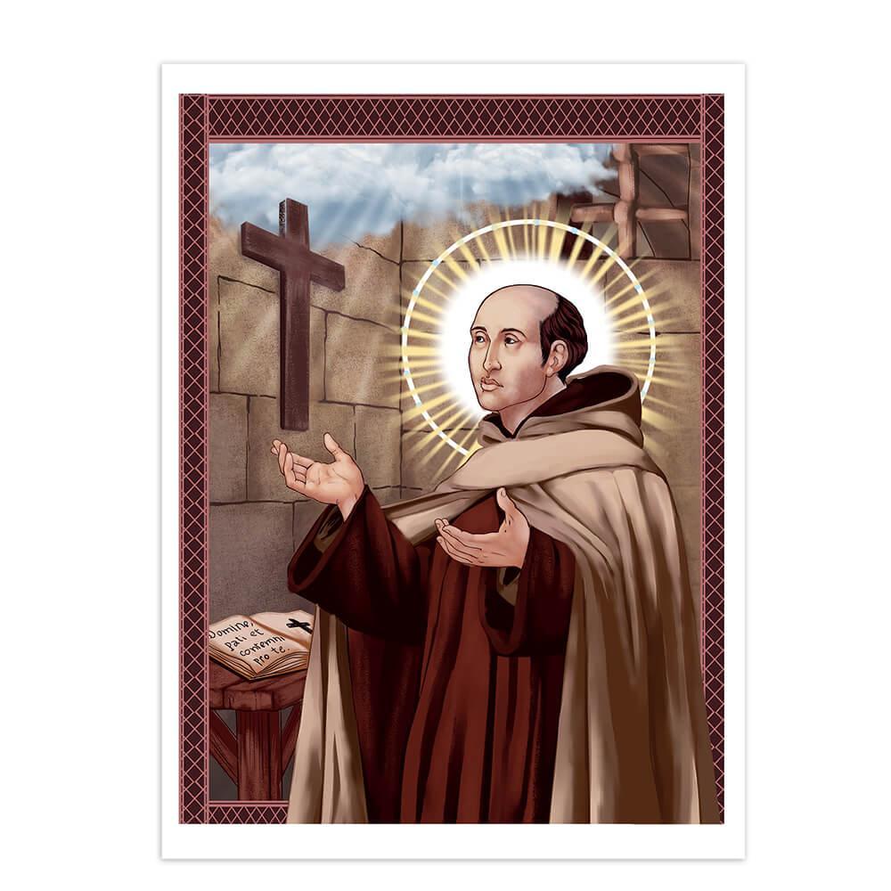 Saint John Of The Cross : Gift Sticker Catholic Christian Spanish Priest Religious Faith