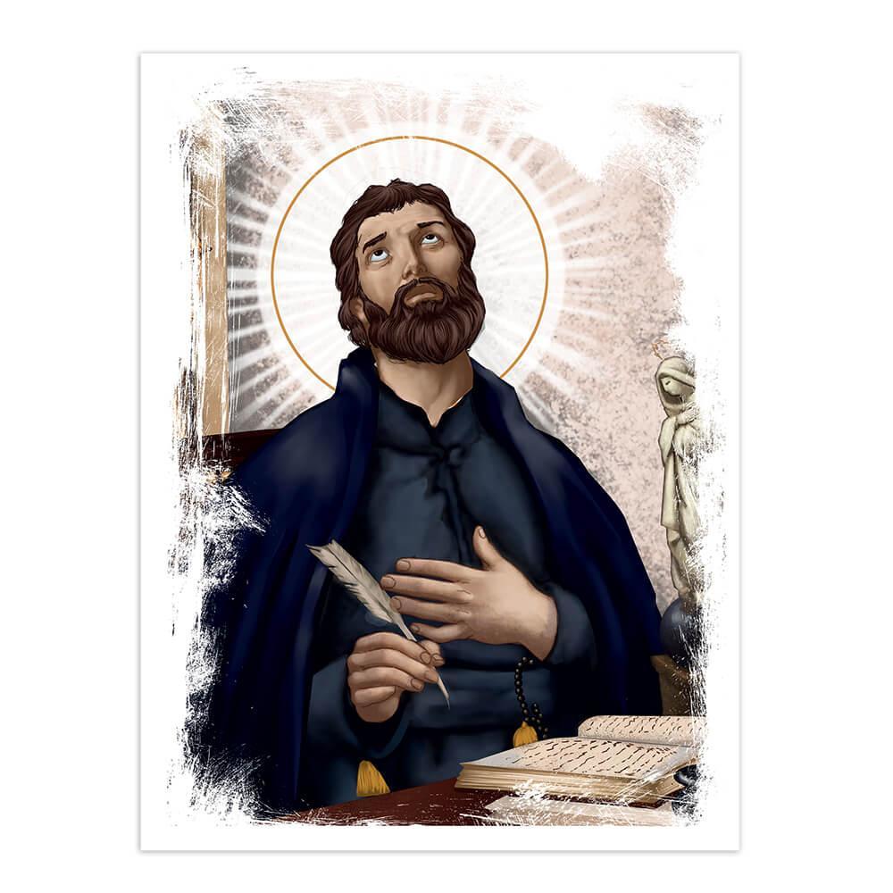 Saint Peter Canisius : Gift Sticker Catholic Church Faith Dutch Christian Religious