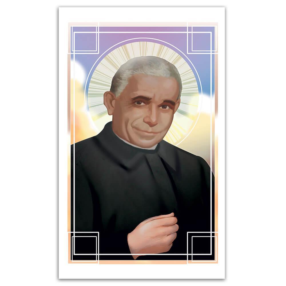 Saint Luigi Orione : Gift Sticker Catholic Church Italian Priest Christian Religious