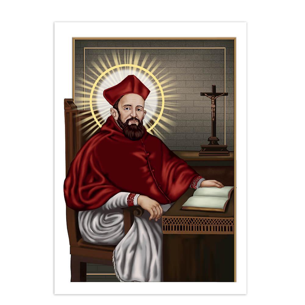 Saint Robert Bellarmine : Gift Sticker Cardinal Catholic Church Christian Religious Roman
