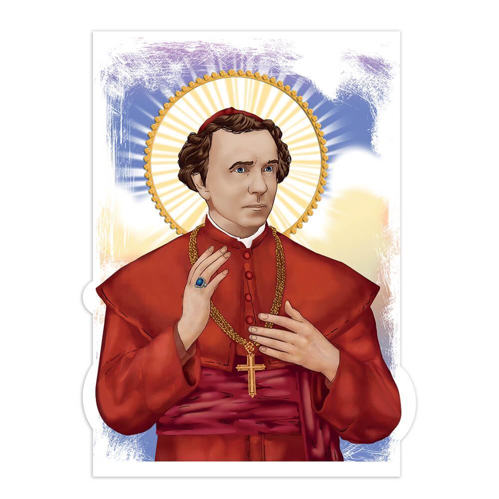 Saint Zygmunt Szczesny Felinski : Gift Sticker Catholic Roman Polish Church Christian