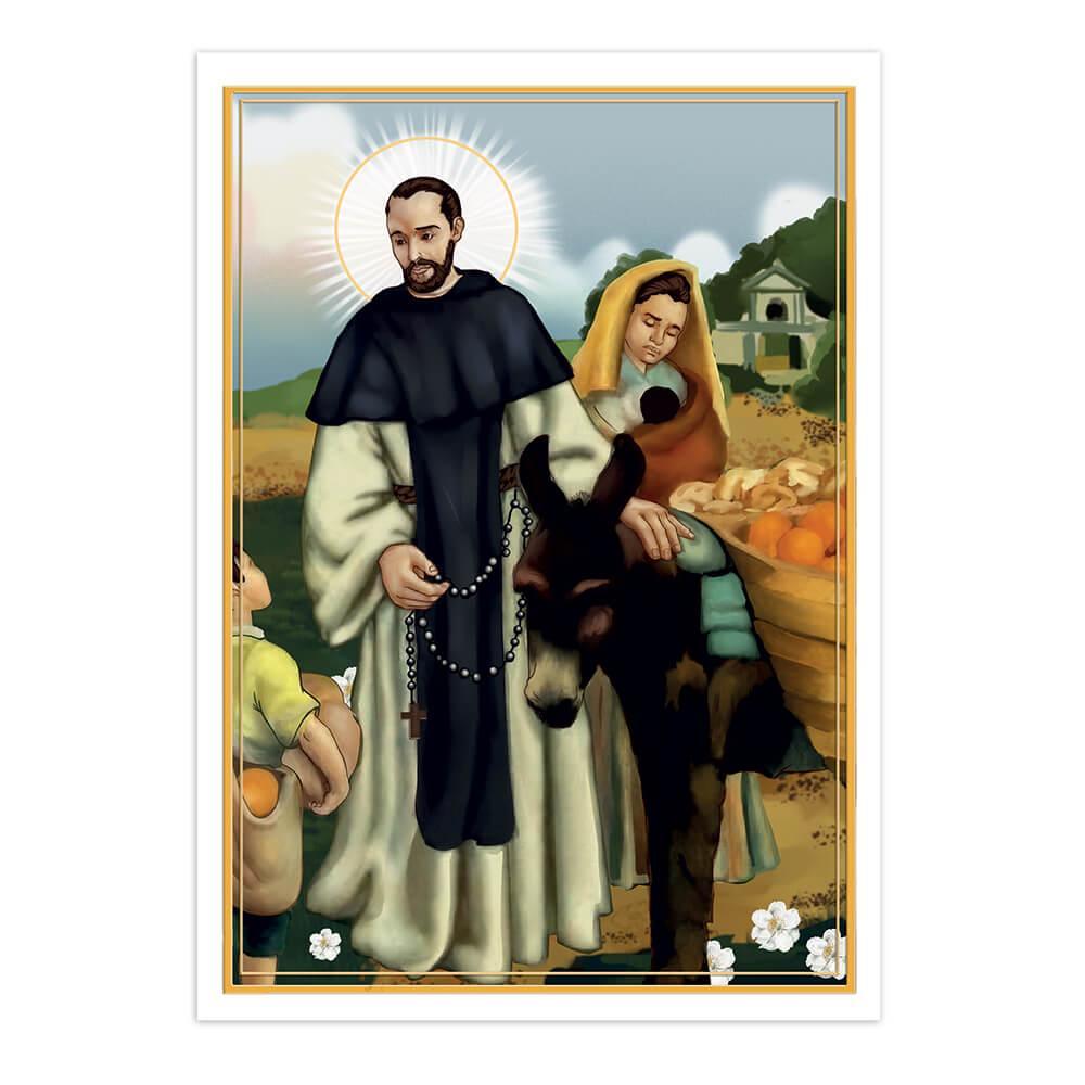 Saint John Macias : Gift Sticker Holy Family Catholic Our Lady Christian Religious Church