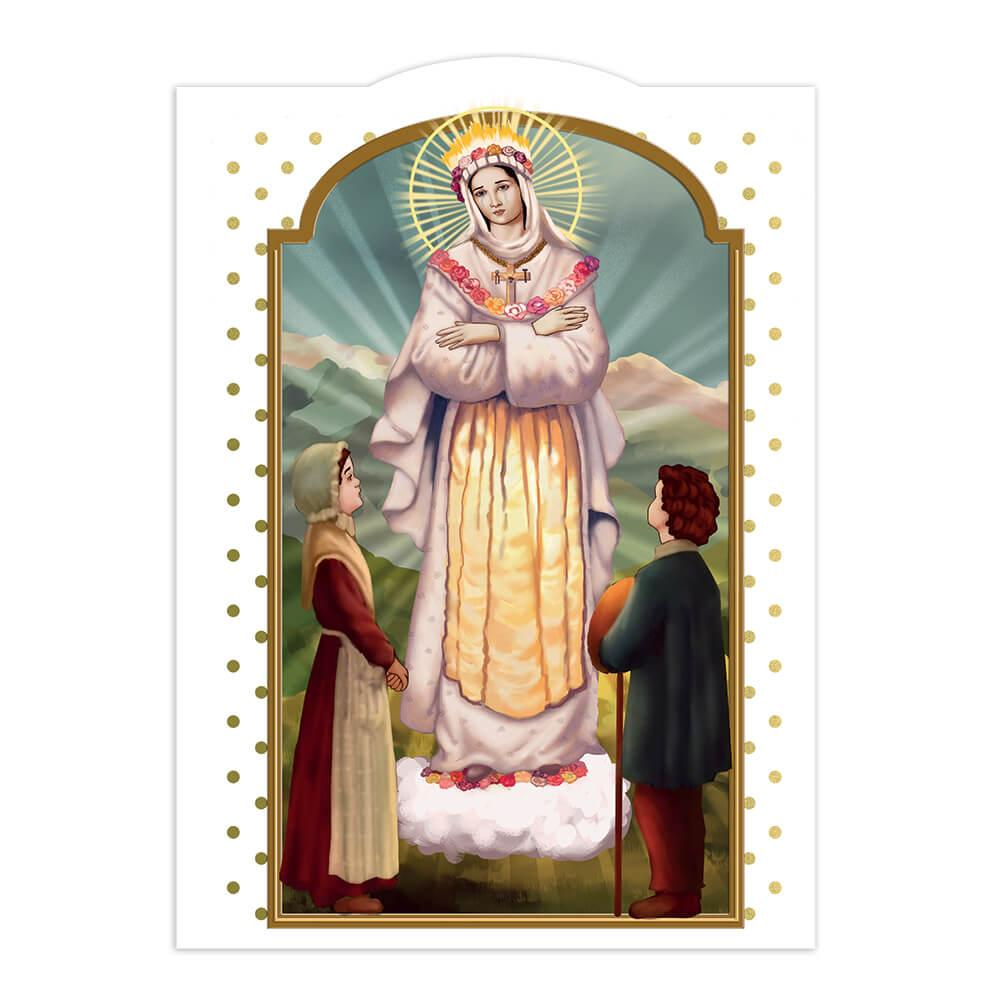 Our Lady Of La Salette : Gift Sticker Catholic Saint Holy Religious Christian Church