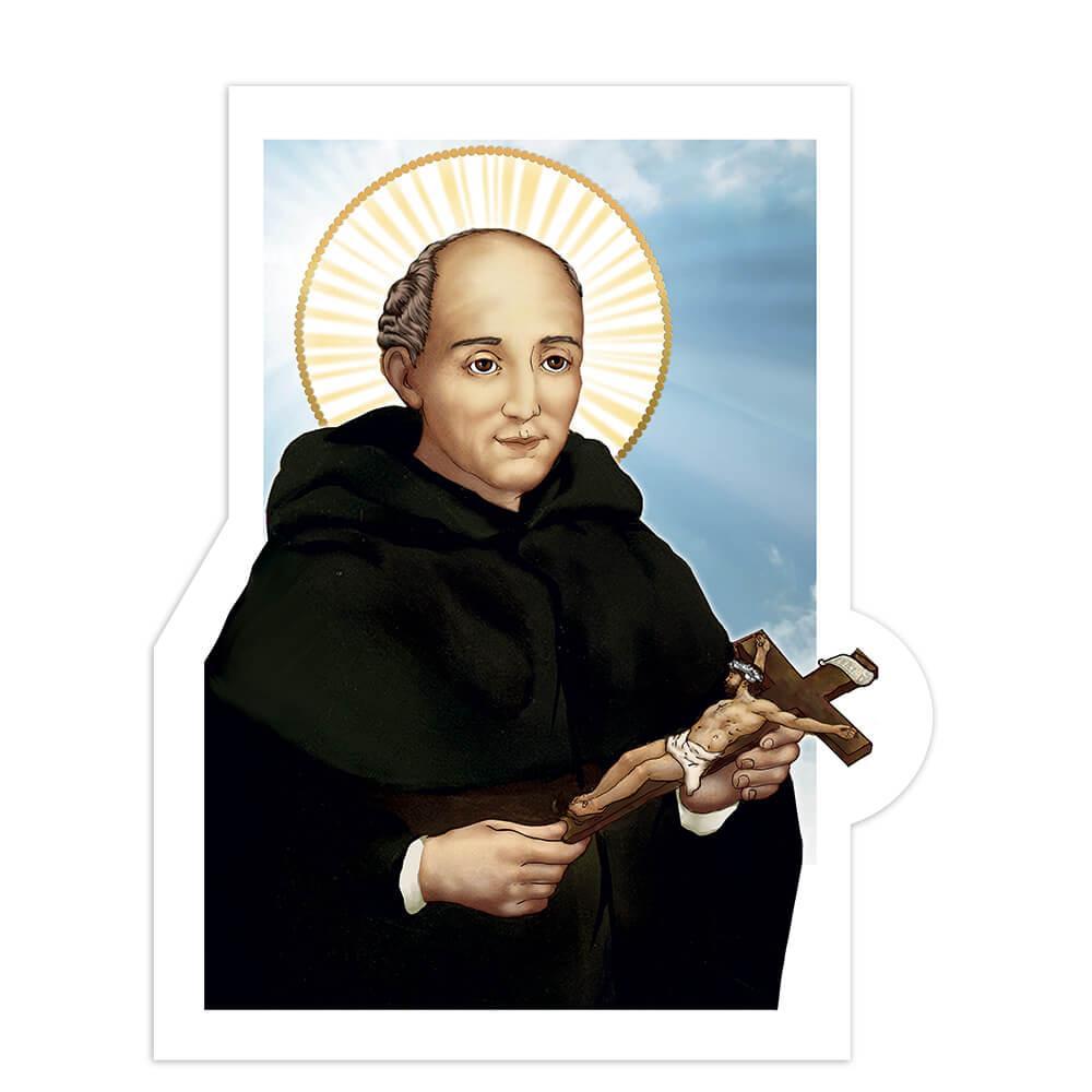 Saint Alonso De Orozco : Gift Sticker Catholic Priest Roman Church Religious Spanish