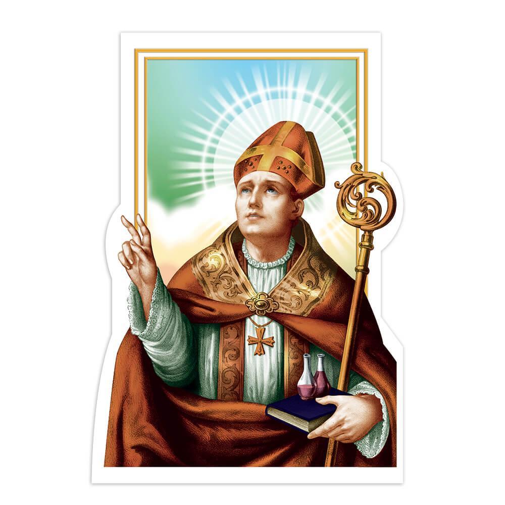 Saint Victorinus Of Pettau : Gift Sticker San Vitorino Catholic Church Religious Christian