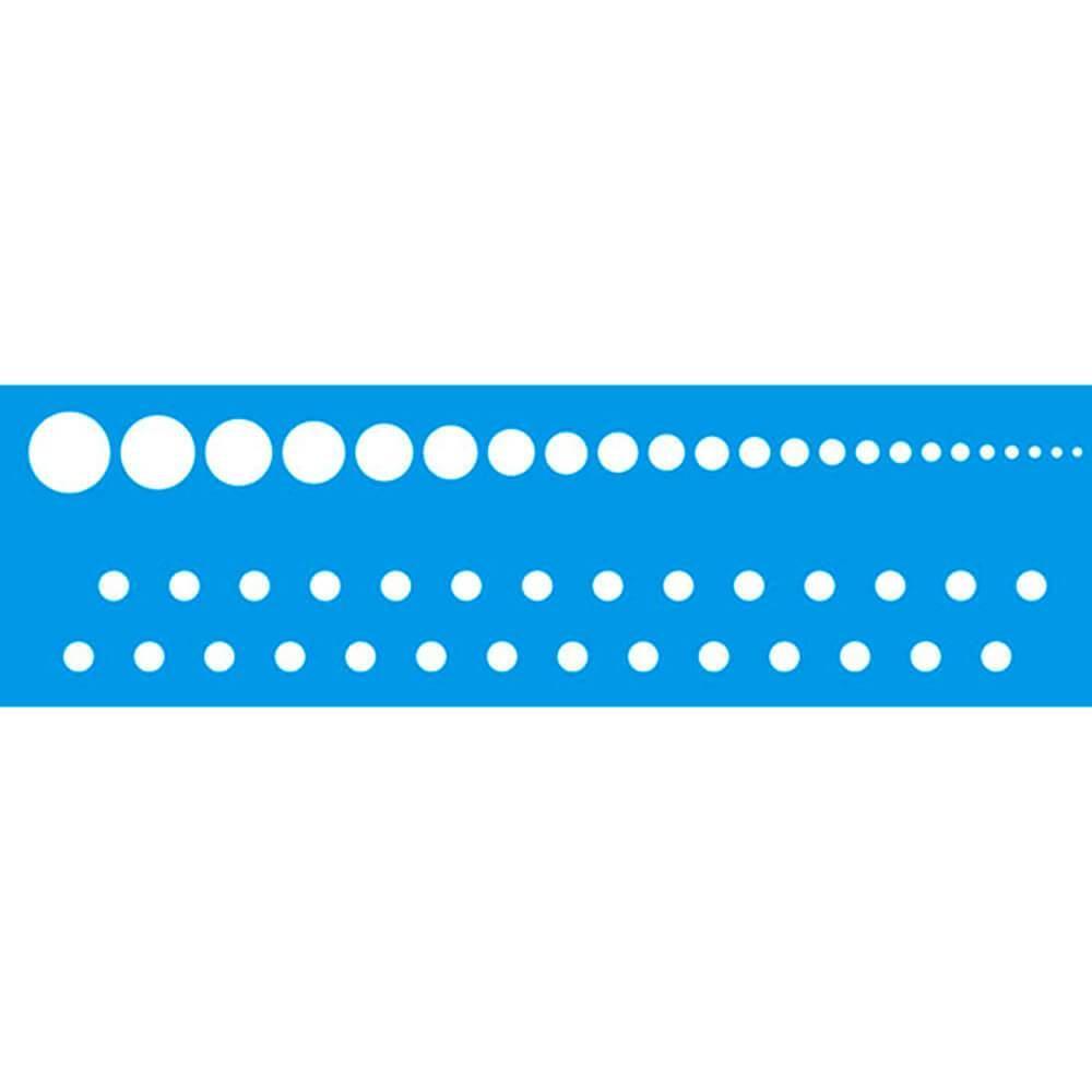 Circle 11.02 x 1.57 in : Diy Reusable Laser Cut Stencils 28x4cm Ornament Border
