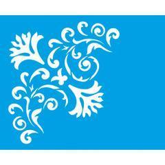 Flowers 6 3/4 x 8 1/4 in : Diy Reusable Laser Stencils 17x21cm Bouquet Ornament