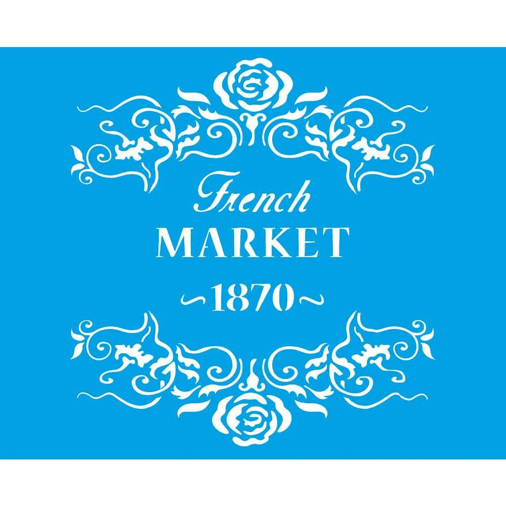 Text 6 3/4 x 8 1/4 in : Diy Reusable Laser Stencils 17x21cm Wood Fabric Crafters