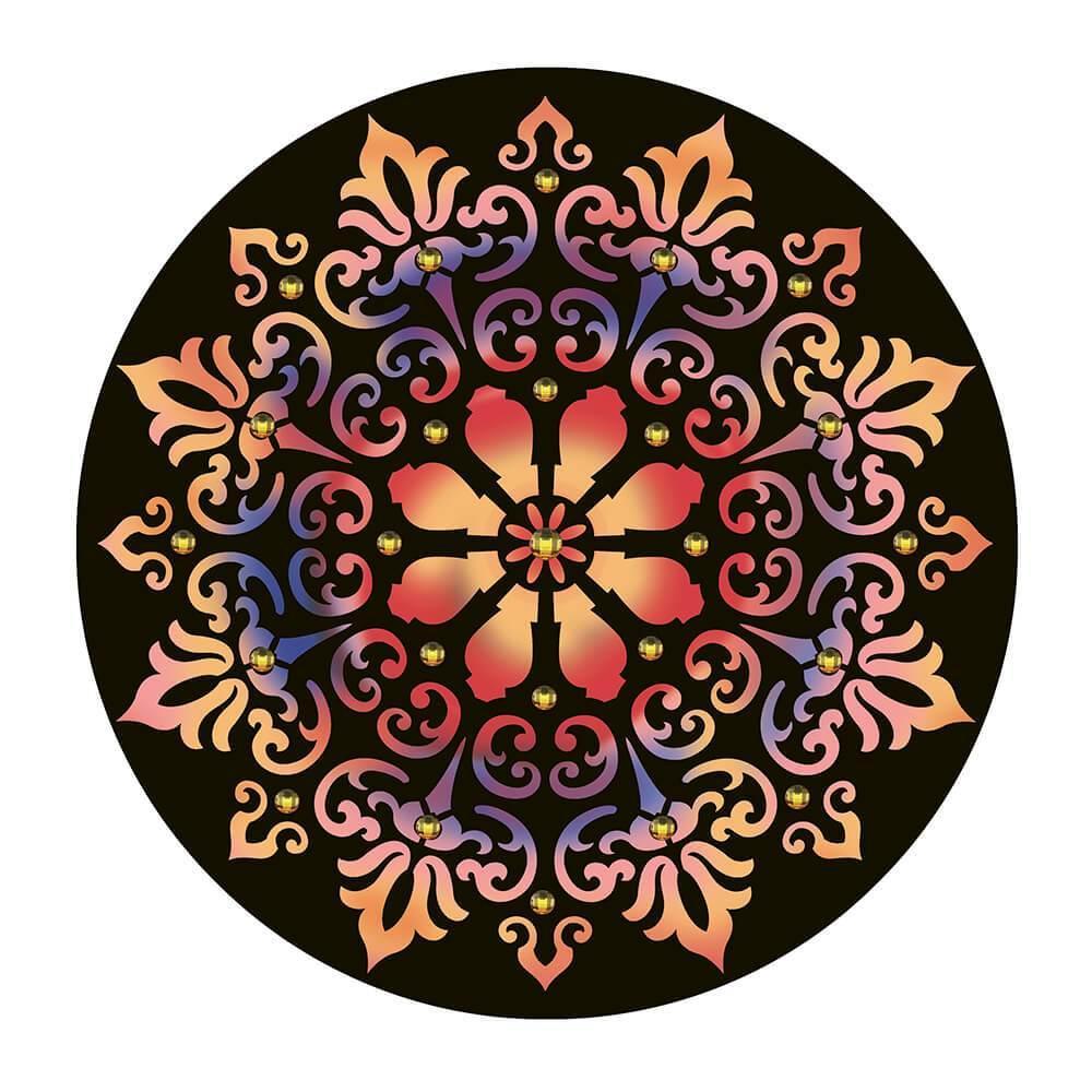 Mandala 11 1/2 x 11 1/2 in : Diy Laser Cut Stencils 29x29cm Ornament Pattern