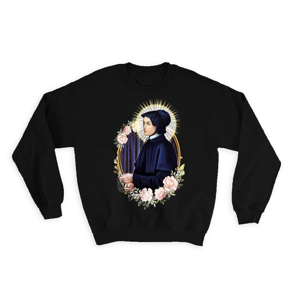 Saint Elizabeth Ann Seton : Gift Sweatshirt Catholic Saints Religious Saint Holy God