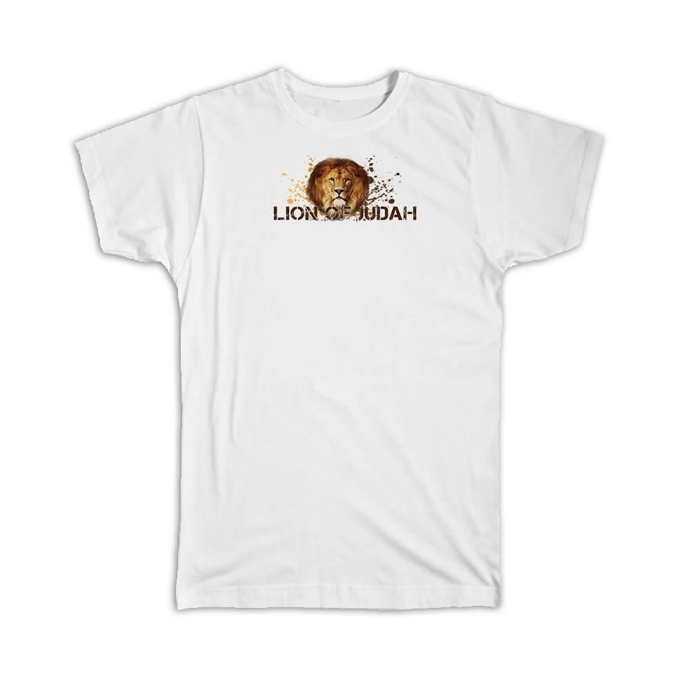 Lion of Judah : Gift T-Shirt Christian Religious Jesus Faith God