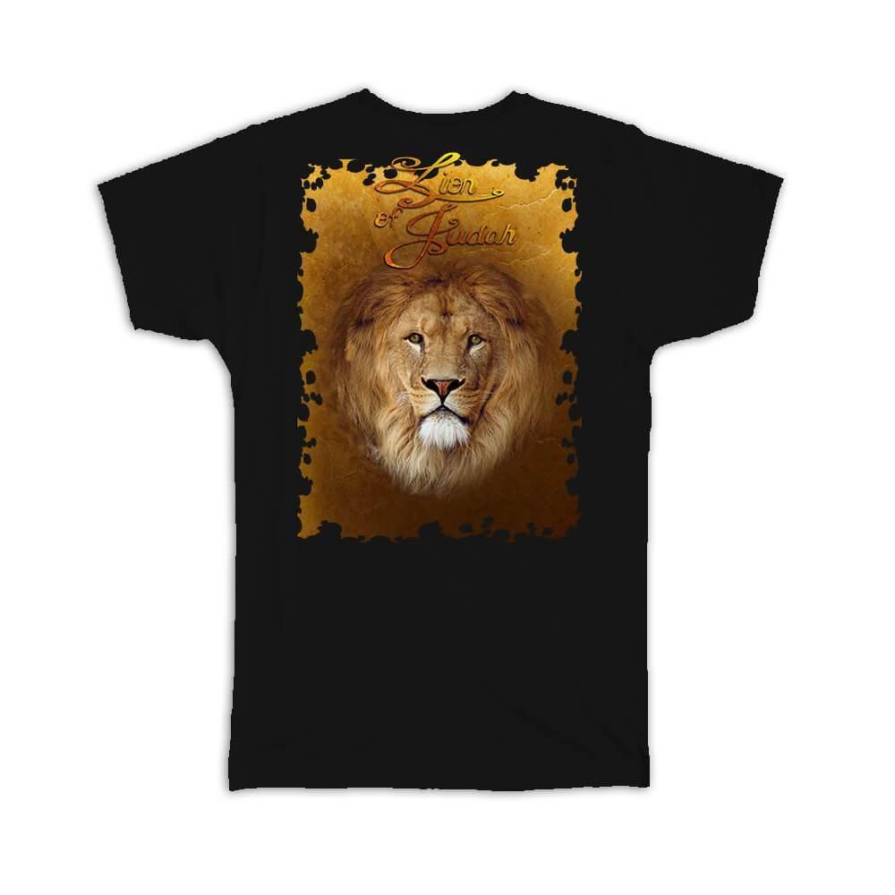 Lion of Judah : Gift T-Shirt Christian Religious Jesus God Faith