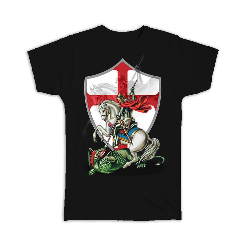 Saint George : Gift T-Shirt Catholic Religious Religion Classic Faith