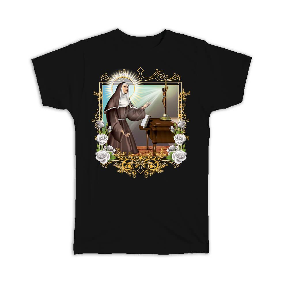 Saint Rita of Cascia : Gift T-Shirt Catholic Religious Virgin