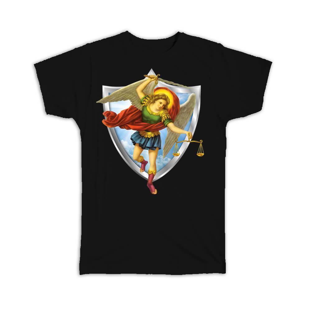 St Michael The Archangel : Gift T-Shirt Angel Catholic Religious Saint