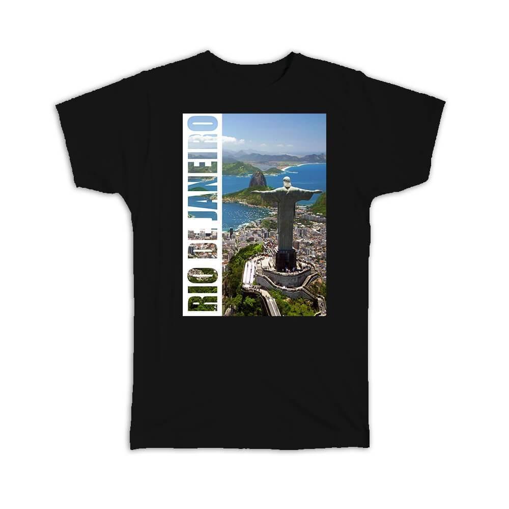 Rio de Janeiro Christ the Redeemer : Gift T-Shirt Brasil Brazil Souvenir