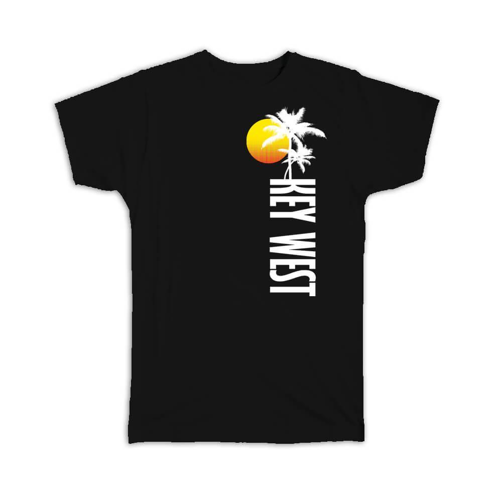 Key West : Gift T-Shirt USA Tropical Beach Travel Souvenir